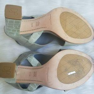 Donald J. Pliner Shoes - Donald J Pliner Katya Cutout Block Heel Shoes
